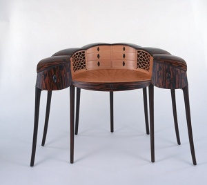 Brian Newell's Ebony Desk, 2002