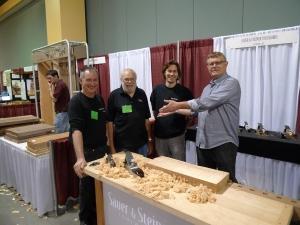 Joe, Lee, Konrad and John at WIA 2011