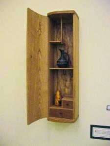 Wall Cabinet by Henry Hewitt (photo Kari Logwood)