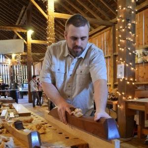 Scott Meek at Handworks 2013 in Amana, Iowa. Photo Credit: Robin MacGregor.